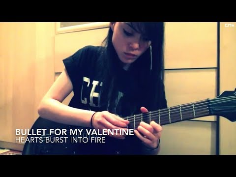 Bullet For My Valentine - Hearts Burst Into Fire GUITAR COVER