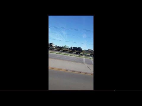 Military Train through Dodge City, KS 5/10/2015