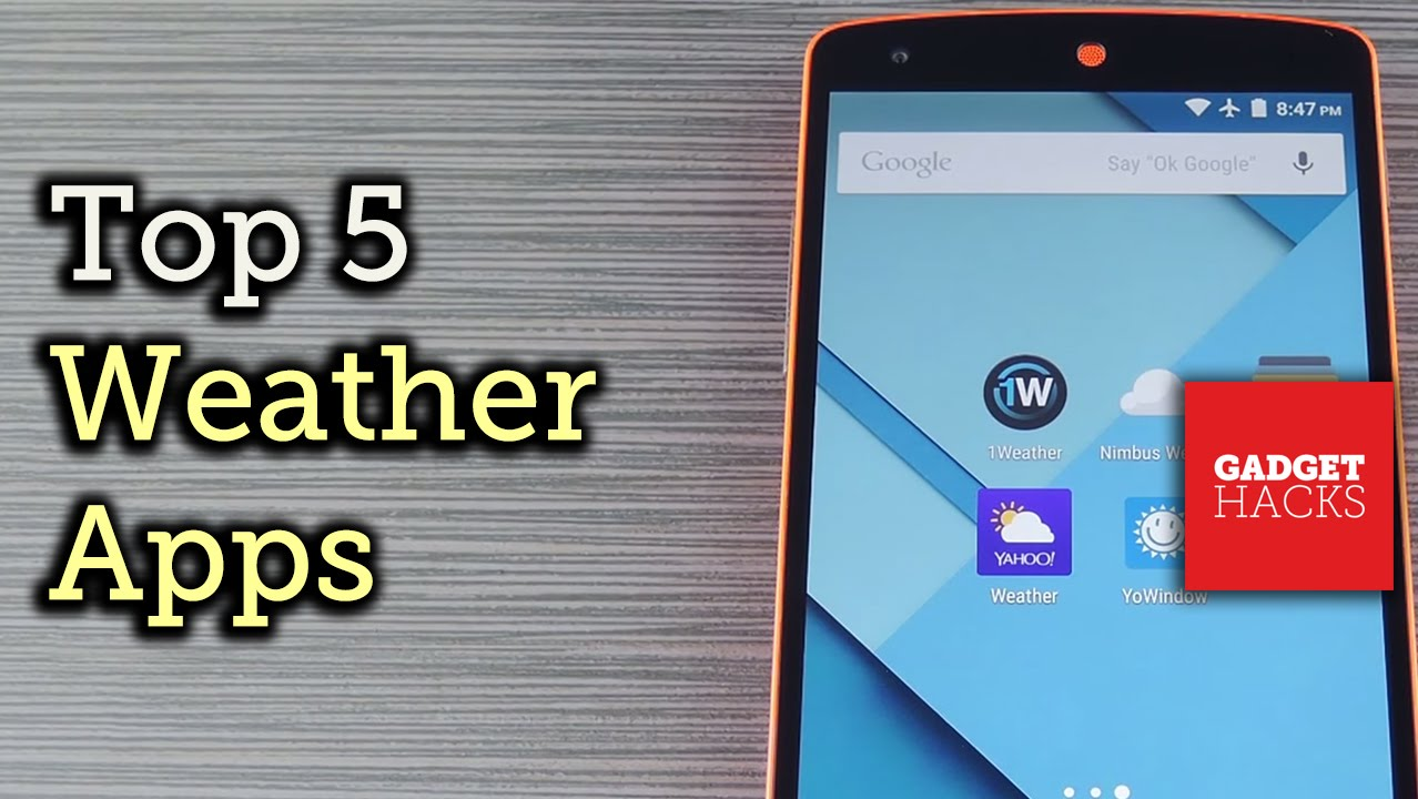 Comparing the 5 Best Weather Apps for Android