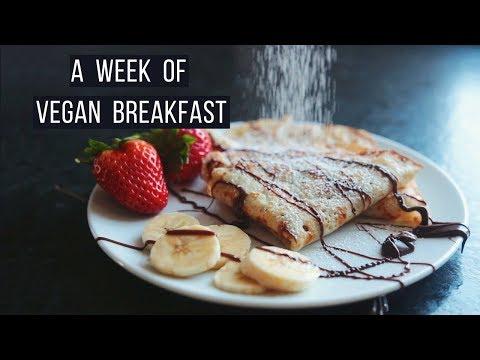 A Week of Vegan Breakfasts!