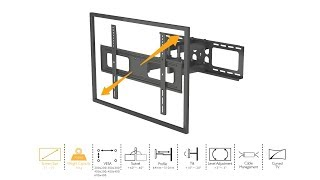 Full Motion Articulating TV Wall Mount for 37