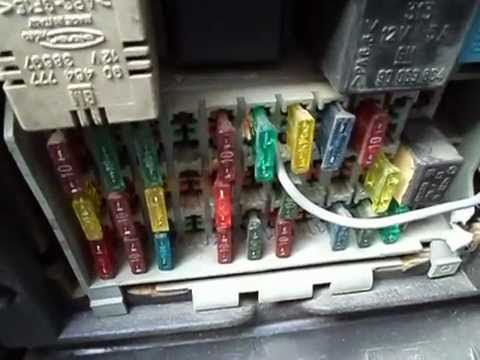 Auto Fuse Box Opel Omega Fuse Box on