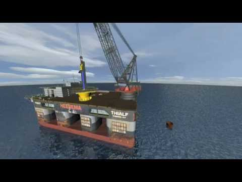 3D Construction Animation - Marine Works