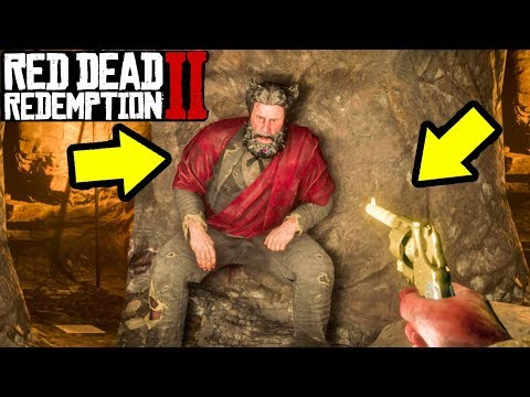 What Happens if You Get Face to Face with The Devil in Red Dead Redemption 2? Cave Hermits Secret!