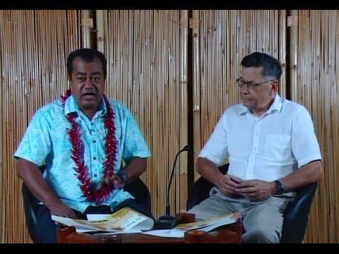 TV3 Samoa Interview Pre-Book Launch - Tony Brunt 19 Apr. 2017
