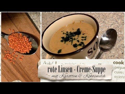 KRUPS cook4me * fleischlose rote LinsenSuppe mit Möhren und Kokosmilch