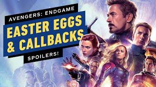 Avengers: Endgame Easter Eggs, Callbacks & Cameos (SPOILERS)