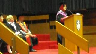 My Graduation Speech at University of Technology Sydney