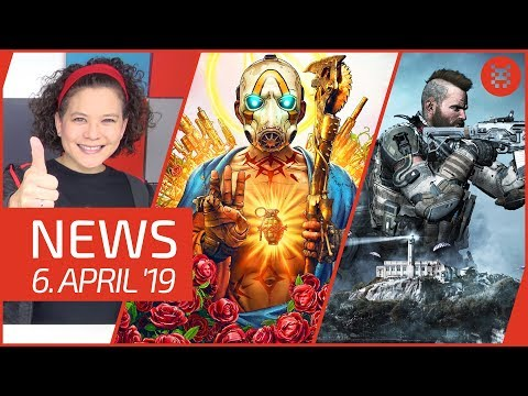 NEWS Borderlands 3 - Call of Duty kostenlos - SEGA Mega Drive Mini - Anno 1800 - Starlink thumbnail