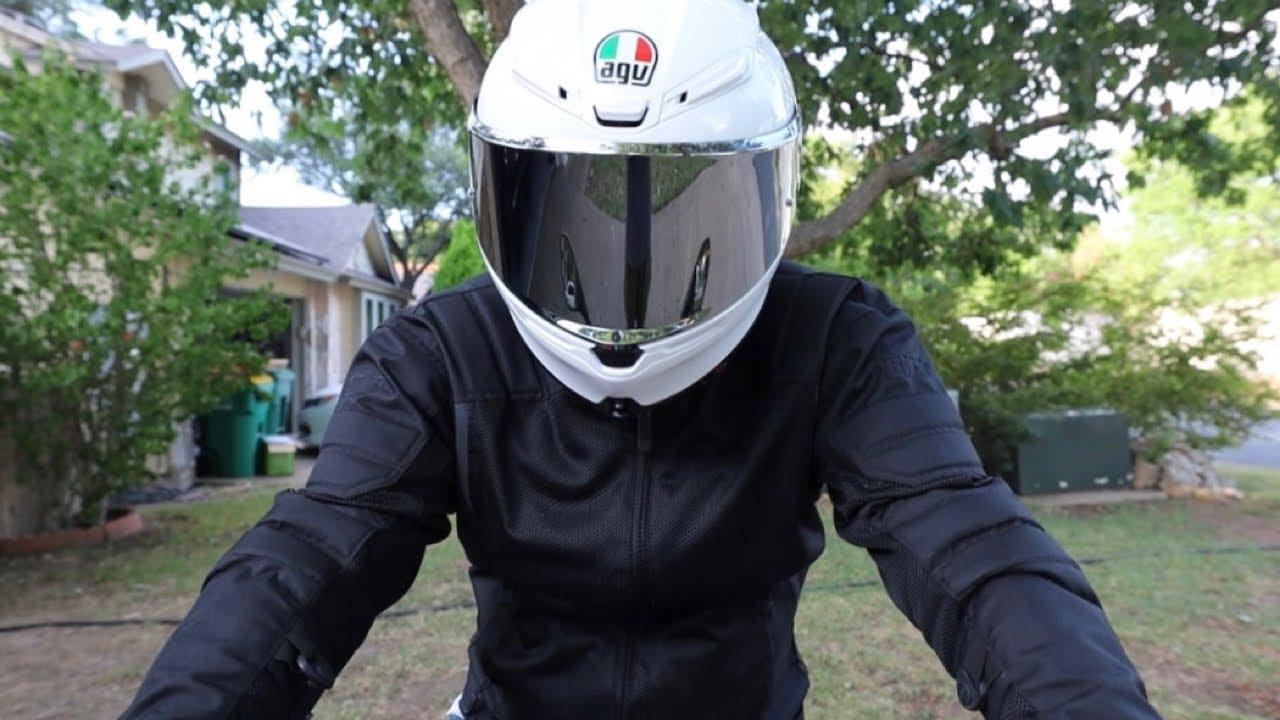 Unboxing The Agv K6 Helmet W Silver Iridium Face Shield Youtube