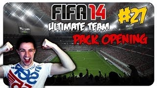 FIFA 14 ULTIMATE TEAM PACK OPENING #27 - MILA SUPERSTAR - LET'S PLAY FIFA 14 [DEUTSCH]