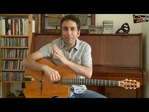 "Gypsy Jazz Guitar Chords: How To Play ""La Pompe"""