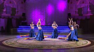 Joumana Dance Show - Silk Madness (Fan veil dance)