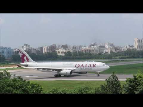 [HD] Plane Spotting @ Hazrat Shahjalal International Airport, Dhaka: Episode-36