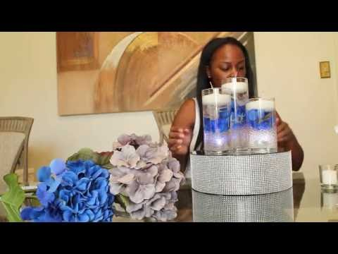 DIY: Floating Candle Centerpiece