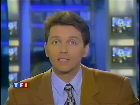 Début JT TF1 13h du 1er Janvier 1997 (Thomas Hugues) - YouTube