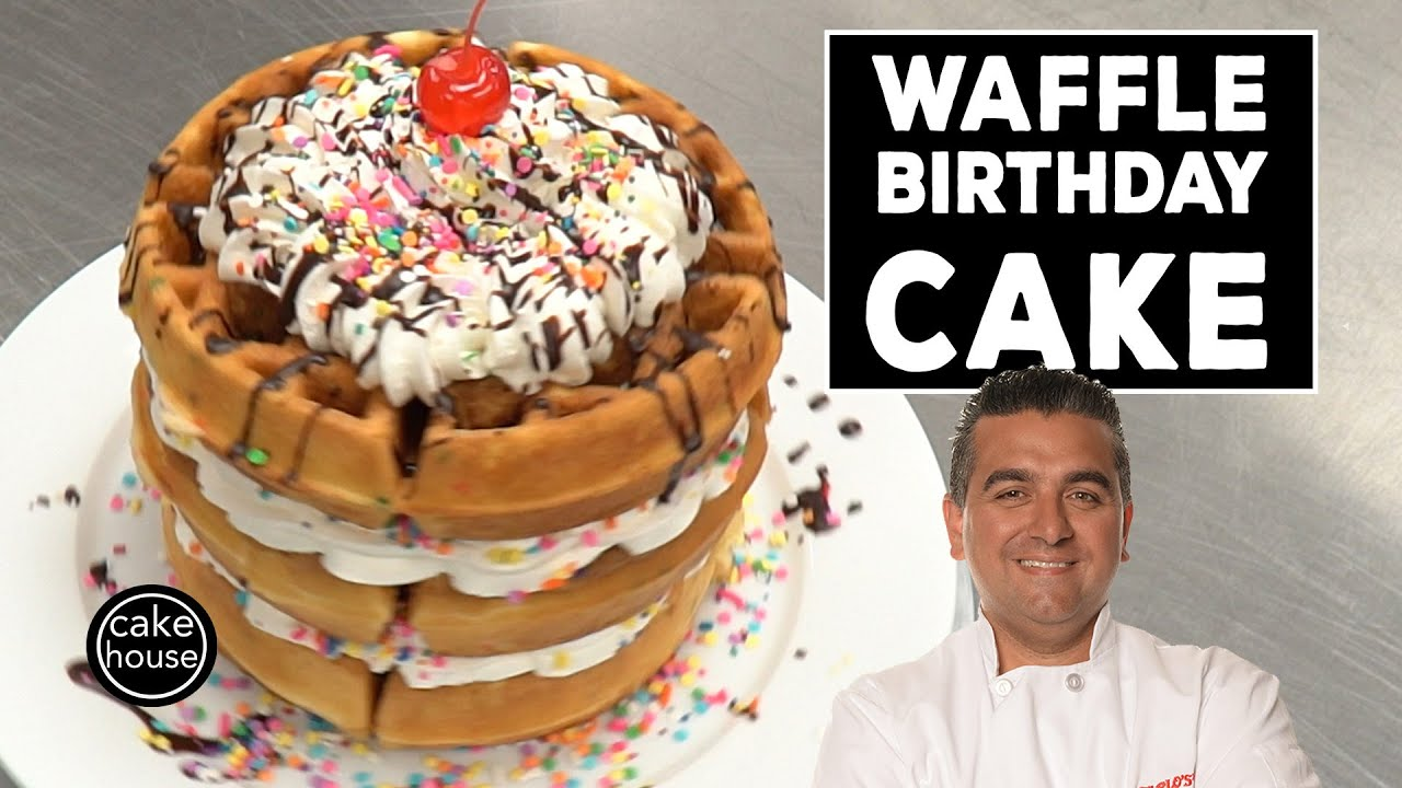 The Cake Bosss Waffle Birthday