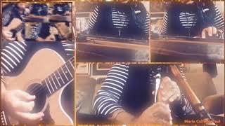 Acapella app: October sun One minute improv using three instruments, Maria Calfa-DePaul