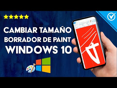 Cómo Hacer el Borrador o Goma de Paint más Grande en Windows 10