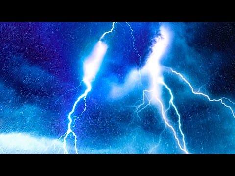 EPIC THUNDER & RAIN  Rainstorm Sounds For Relaxing, Focus or Sleep  White Noise 10 Hours
