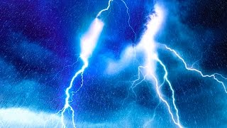EPIC THUNDER RAIN Rainstorm Sounds For Relaxing, Focus or Sleep White Noise 10 Hours