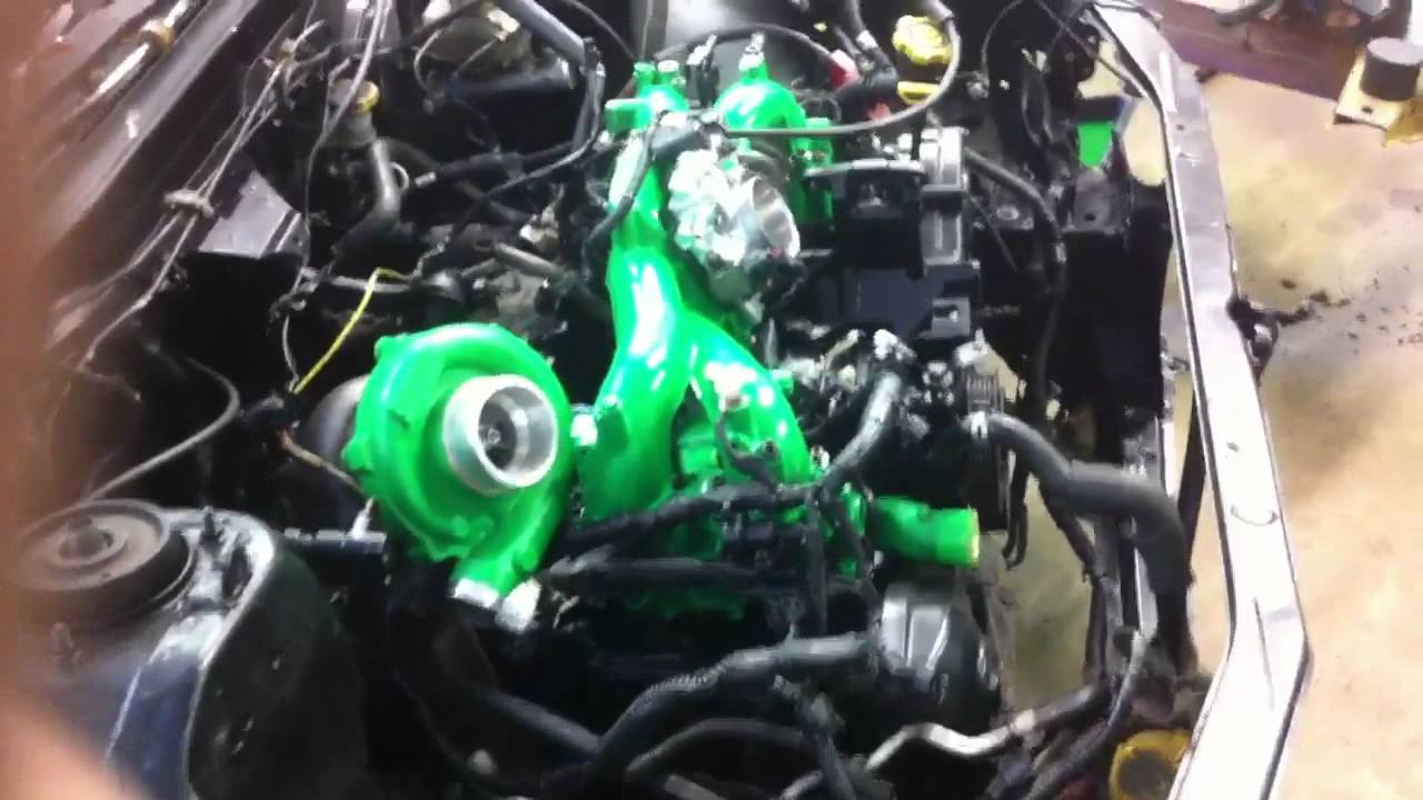 Rwd Impreza Rotated Turbo And Intake Manifold Youtube