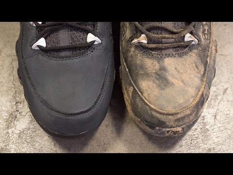 How to clean Jordan Anthracite 9's with Reshoevn8r