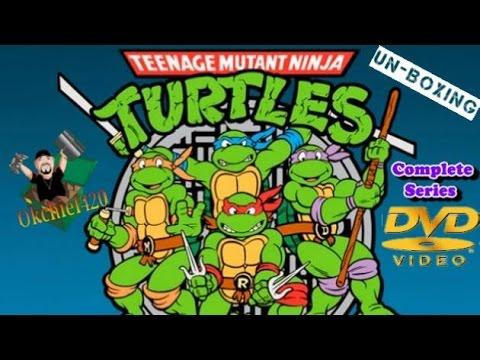 The Complete Teenage Mutant Ninja Turtles DVD Animated Series 10 Seasons Unboxing