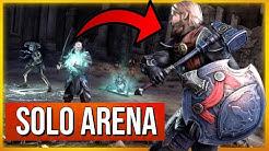 ESO Solo Arena Gameplay (The Elder Scrolls Online Skyrim)