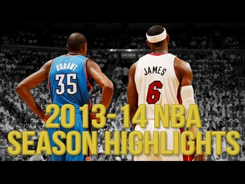2013-14 NBA Season Highlights ᴴᴰ