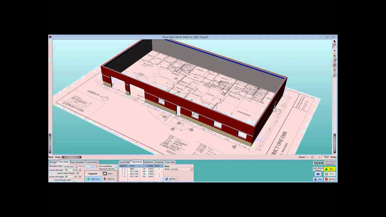 12 Creating And Placing Rebar Schedules Tradesmens 3D Master Estimator Software