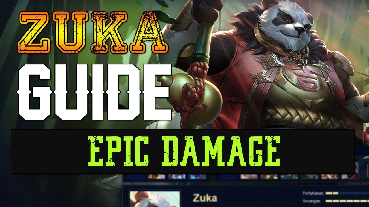 Zuka Guide Arena Of Valor