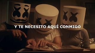 Marshmello - Here With Me (Subtitulada Español) Ft. CHVRCHES