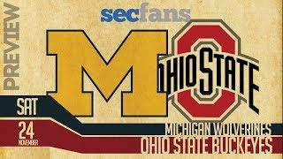 Michigan vs Ohio St - (Computer Model) Preview & Prediction 2018 College Football