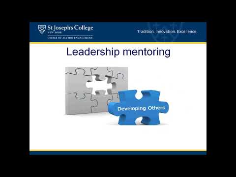 Alumni 2018 Webinar Series: How to be a Great Mentor