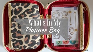 What's In Travel My Planner Bag