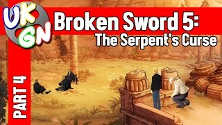 Broken Sword 5: The Serpent's Curse - 100% Walkthrough - Part 4