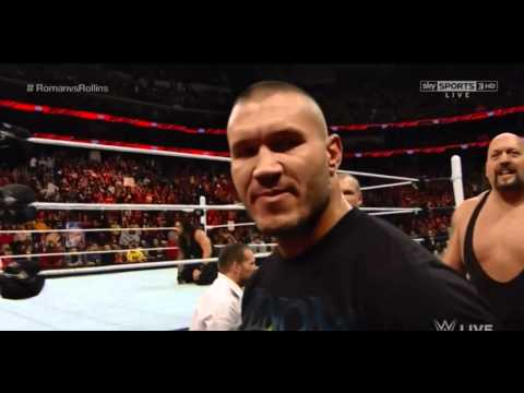 Roman Reigns destroys The Authority: Raw, March 2, 2015
