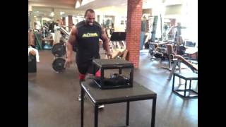 "48"" Box Jumps 285lbs"