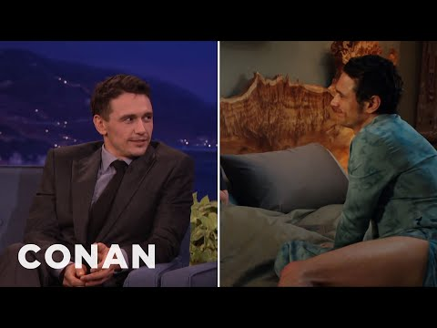 """James Franco's Lower Half Gets A Lot Of Screentime In """"Why Him?""""  - CONAN on TBS"""