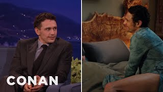 "James Franco's Lower Half Gets A Lot Of Screentime In ""Why Him?""  - CONAN on TBS"