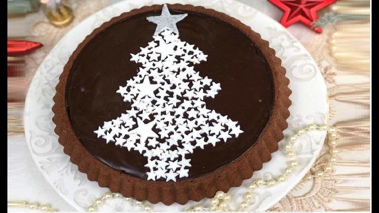 Dolci Natalizi Uccia3000.Ricetta Crostata Morbida Al Cioccolato Ricetta Di Natale