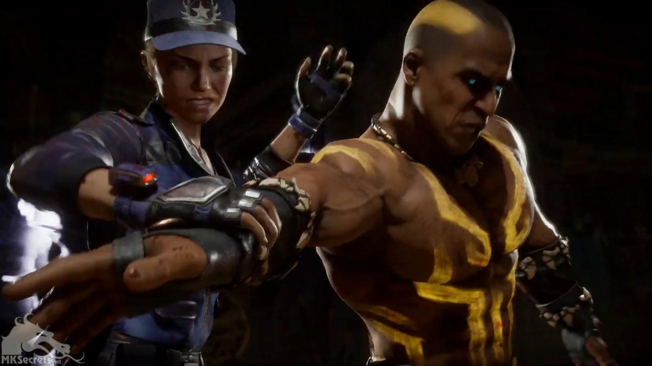 Mortal Kombat 11 Sonya's Supply Drop Fatality (How To)