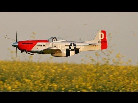 Rc Hangar 9 P51d Mustang Part 1 Os Fs 120 Surpass