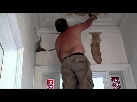 Plaster Cracking Repairs 1890's House 1