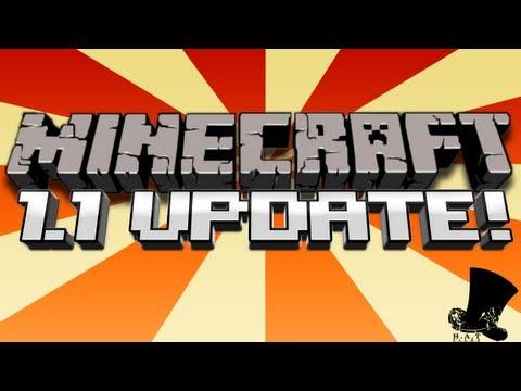 Minecraft 1.1 Update