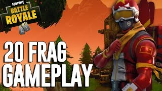 20 Frag Gameplay - Fortnite Battle Royale Gameplay - Ninja