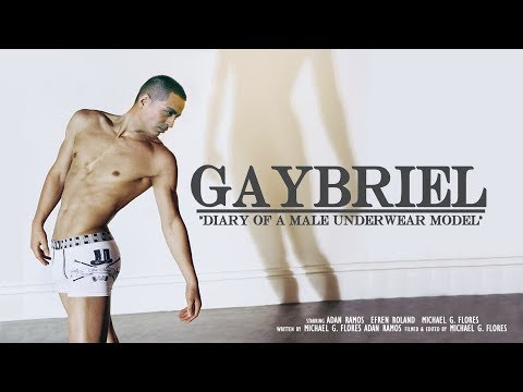 GAYBRIEL: Diary Of A Male Underwear Model Documentary