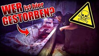 WER IST HIER GESTORBEN? - Blutbad in der PSYCHATRIE gefunden - LOST PLACES | Fritz Meinecke