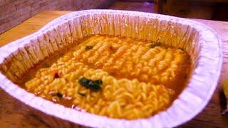 무인 라면자판기 2,000원에 끓여서 나오는 라면/한국…